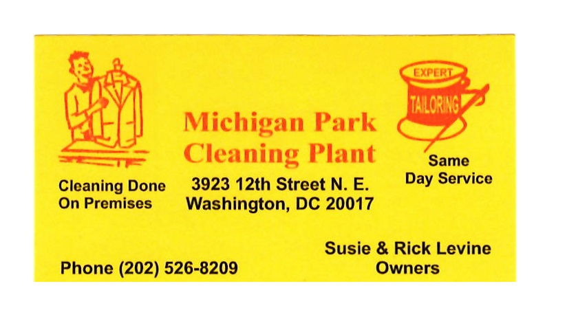 Michigan Park Cleaning Plant